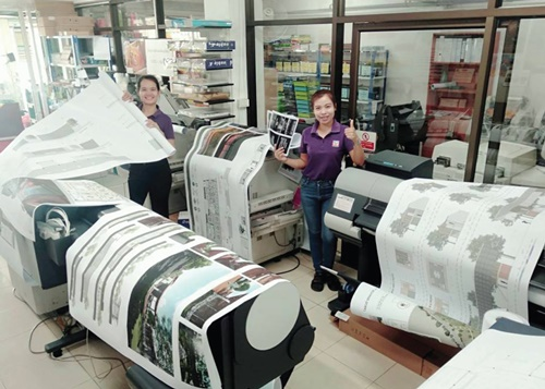ร้านรันก๊อปปี้ บริการด้านงานถ่ายเอกสารสี,ขาวดำ,ปริ้นแปลน ปริ้นโปสเตอร์อิ้งเจทและเลเซอร์ เข้าวิทยานิพนธ์ ภายใน 1 วัน